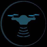 exploración minera con drones