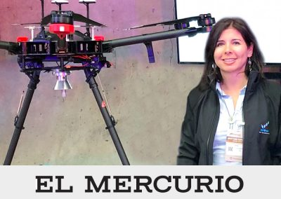 "El Mercurio: Geomagdrone ganador de ""Think Big Mining 2016"""