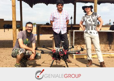 Emprendimiento que apuesta a la exploración minera con drones