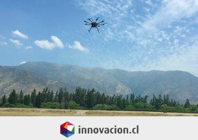 ¿Exploración minera desde el aire? El producto chileno GeoMagDrone lo hace