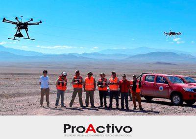 """""""GeoMagDrone"""": Chile usará drones para sus exploraciones mineras"""