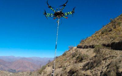 Iniciativa «Dron Magnetómetro»